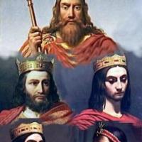 """Los Merovingios, esos injústamente """"Reyes perdidos""""."""